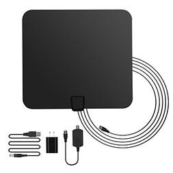 GHB Amplified HDTV Antenna 50 Miles Range Digital TV Antenna