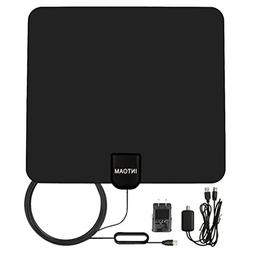 Amplified TV Antenna Indoor, HDTV Digtial HD Antennas, Anten
