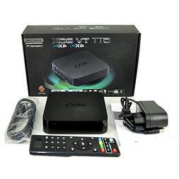 MXQ Android 4.4.2 Quad Core Smart TV Box Mini PC Streaming M