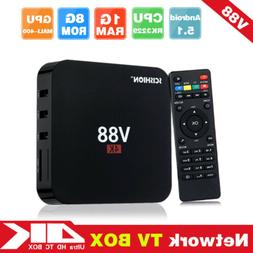 Android 5.1 Media Player V88 Smart TV Box RK3229 Quad Core 4