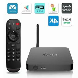 MXQ Android 6.0 TV BOX Ultra HD 4K Amlogic S905X Quad Core 1