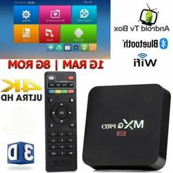 Android 7.1 Quad Core Smart TV Box S905W HDMI Wifi TV Media