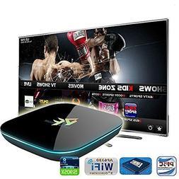 Pigflytech Android TV Box PFQ Smart Mini PC Quad Core/2GB/16