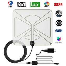 LeadTry ANT Slim TV Antenna, Most Slimmest HDTV IndoorAntenn