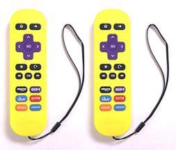 2-Pack Amaz247 ARCBZ01 Replacement Remote for Roku 1, Roku 2