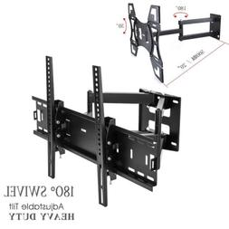 Articulating Full Motion TV Wall Mount 15°Tilt 180°Swivel