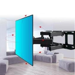 Articulating Full Motion TV Wall Mount Tilt 180°Swivel For
