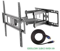 """Jestik Articulating Full Motion TV Wall Mount For Most 37""""-7"""