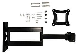 MonMount Articulating Single Arm Monitor Wall Mount