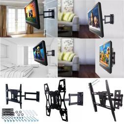 Articulating Swivel Corner ARM TILT LED TV Wall Mount &1/2 T