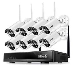 ZOSI 8 Channel 960p AUTO-Pair Wireless System 8CH 960P NVR w