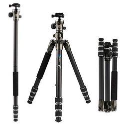 BONFOTO B671C Carbon Fiber Lightweight Portable Camera Trave