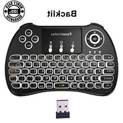 Mini Wireless Keyboard / Air Remote Control / Mouse / Touchp