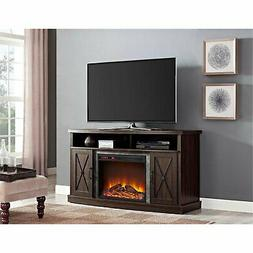 Ameriwood Home Barrow Creek Electric Fireplace TV Stand for