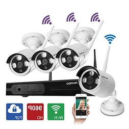 AKASO Wireless Security Camera System Wifi Video Surveillanc