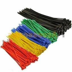 "50 Pcs Black 8"" inch  + 200 Pcs Color 4"" inch  Cable ZIP Tie"