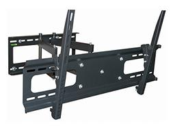 Black Full-Motion Tilt/Swivel Wall Mount Bracket for Dell 50