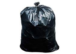 64 Gallon Black Trash Bags for Toter - 50 Bags Per Case