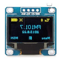 0.96 Inch 4Pin Blue Yellow IIC I2C OLED Display Module For A