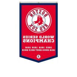 Boston Red Sox 2018 World Series Champions Banner Flag  30x5