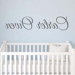 Boys Nursery Personalized Custom Name Vinyl Wall Art Decal S