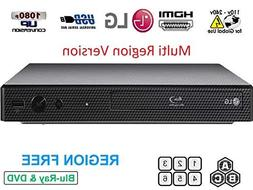 LG BP165 Region Free Blu-ray Player, Multi region 110-240 vo