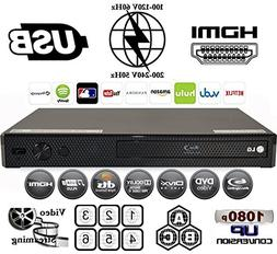 LG BP255 Multi System All Zone Region Free Blu Ray DVD Playe