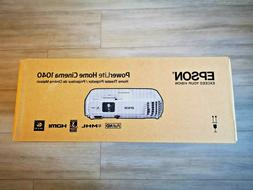 Brand New Epson PowerLite Home Cinema 1040 Projector 1080p H