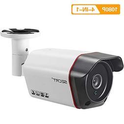 HD 1080P Outdoor Security Bullet Camera, 2.0 Megapixel Sony