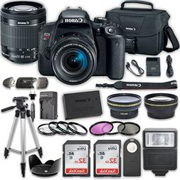 Canon EOS T7i DSLR Camera with 18-55mm IS STM Lens + 2 x 32G
