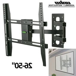 Cantilever Arm TV Wall Bracket Mount Monitor Stand Tilt Swiv