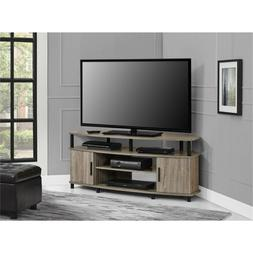 Carson 50-inch Sonoma Oak Corner Tv Stand