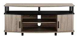Carson TV Stand for 50-Inch TVs  Distressed Gray Oak