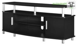 """Ameriwood Home Carson TV Stand for TVs up to 50"""", Black 50 I"""