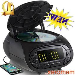 Memorex CD Top Loading Dual Alarm Clock AM/FM Stereo Radio M