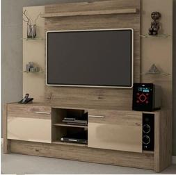Entertainment Center Wall Unit TV Stand for Flat Screen with