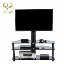 TAVR Swivel Floor TV Stand with Mount,3-in-1 Flat Panel Ente