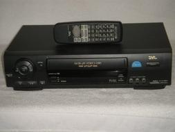 JVC Pro-Cision 4 HEAD Hi-Fi Stereo VCR, Mdel #HR-VP670U.