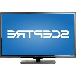 "SCEPTRE 40"" LED Class 1080P HDTV with ultra slim metal brush"