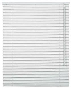 CORDLESS WHITE Aluminum Horizontal 1 Inch Mini Blind Choose