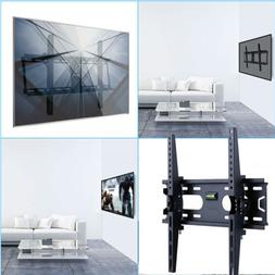 Corner Swivel Tilt TV Wall Mount w/ Low Profile Design Locki