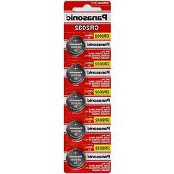 Panasonic CR2032 3 Volt Lithium Coin Battery