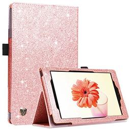 BENTOBEN Case for Fire HD 8,Glitter Bling Sparkly Folio Fold