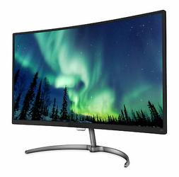 "Philips Curved 31.5"" 1920 x 1080 5ms VGA/HDMI/DP VA LED Moni"