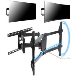 "Curved and Flat TV Wall Mount Bracket for 32-70"" LED LCD OLE"
