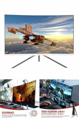 Curved Gaming Monitor GN27DW 27-Inch 1440p 144Hz VA Panel Fr