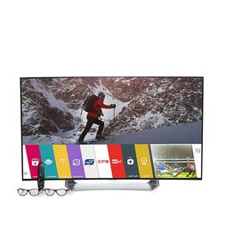 """LG 55"""" Curved Smart 1080p OLED 3D TV with webOS 2.0, 3D Glas"""