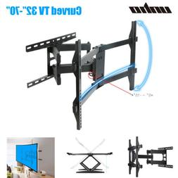 """CurvedFlat TV Wall Mount Bracket for 32-65 inch 16"""" Extensio"""
