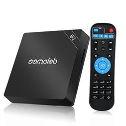 DOLAMEE D9 Android 6.0 TV BOX, Amlogic S912 Octa Core 3GB RA