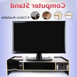 Desktop Computer Stand Screen Monitor Mount Display Desk Org